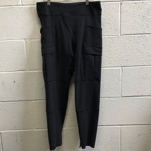 Lululemon black pant, sz 8, 60416